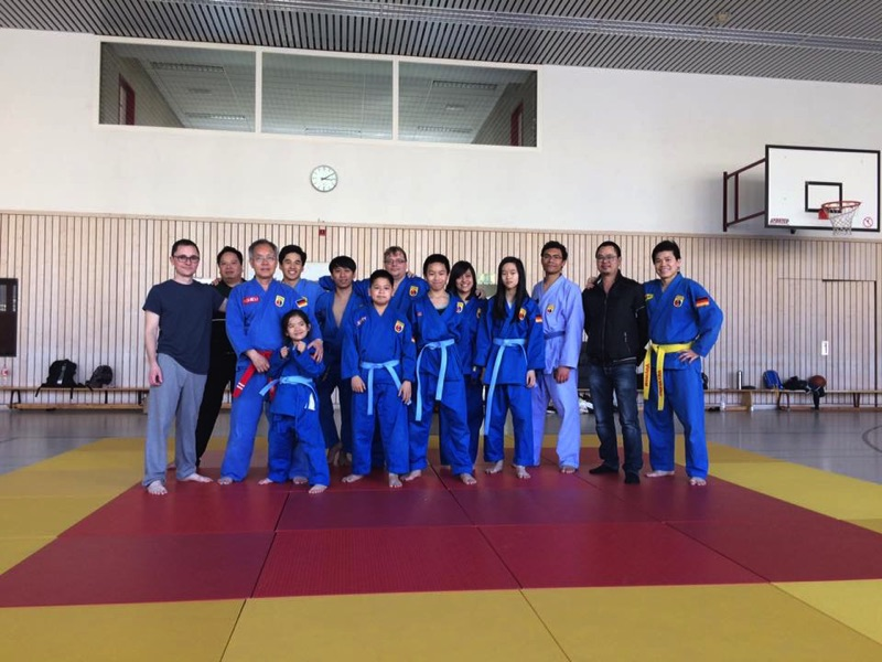 Vovinam Berlin - Blue belt exam