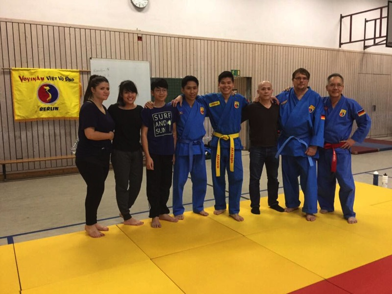 training with master Chieu november 2016