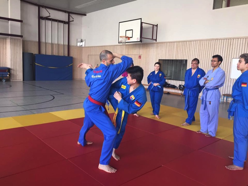 training with master Vittorio Cera