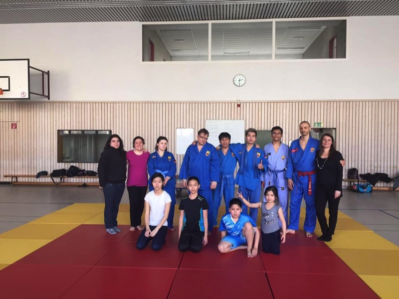 training with master Vittorio Cera, group photo