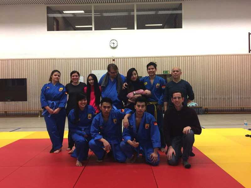 The first Vovinam Berlin Christmas party
