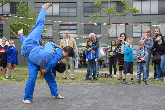 Vovinam Berlin performed during the SV-Tora Family Festival 2016